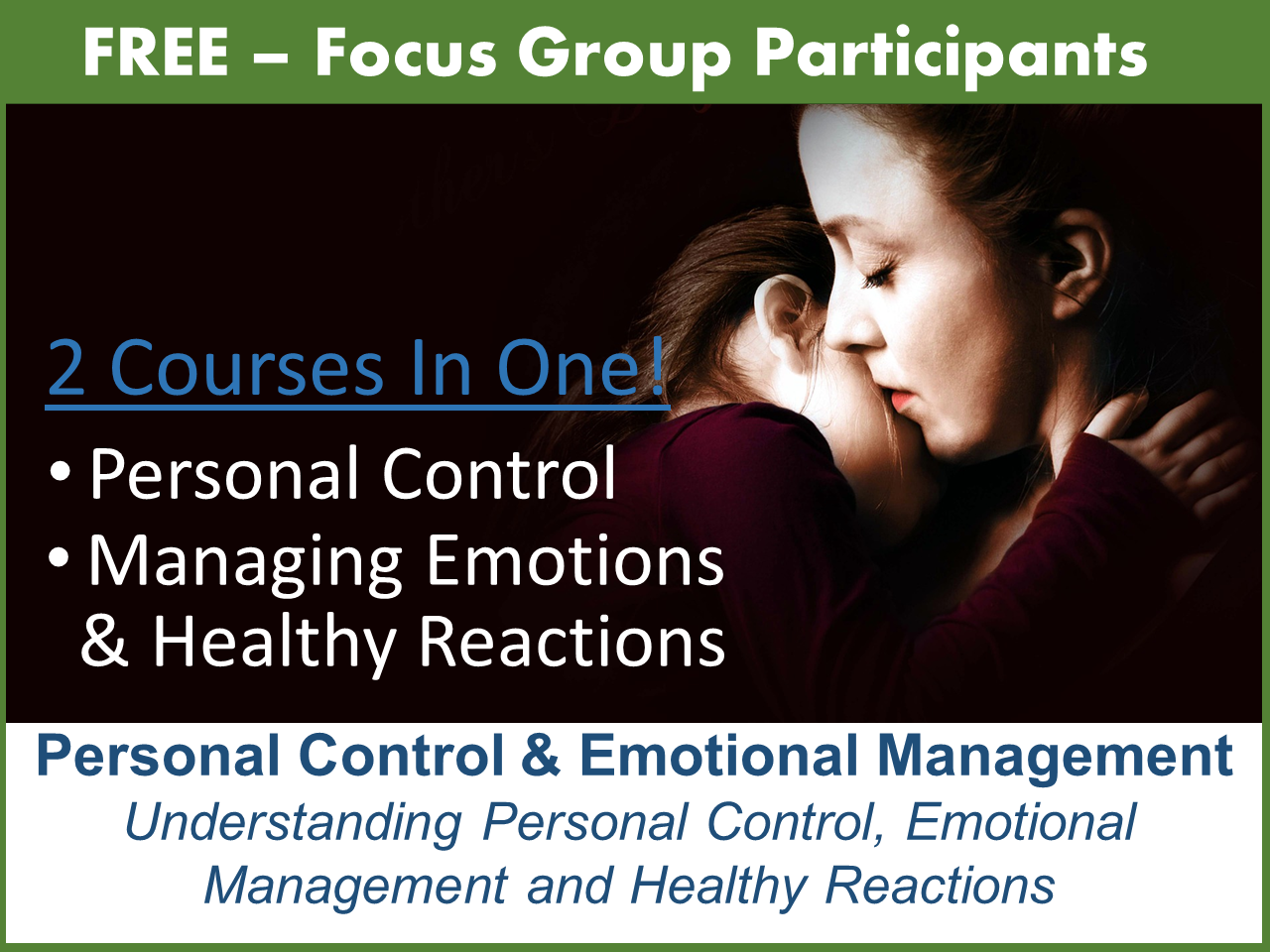 Protected: Understanding Control and Emotional Management (parents and children) ALB focus group