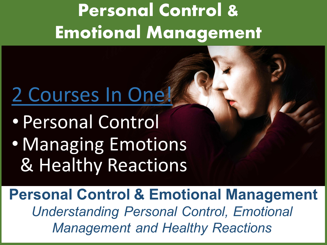 Understanding Control and Emotional Management ALB