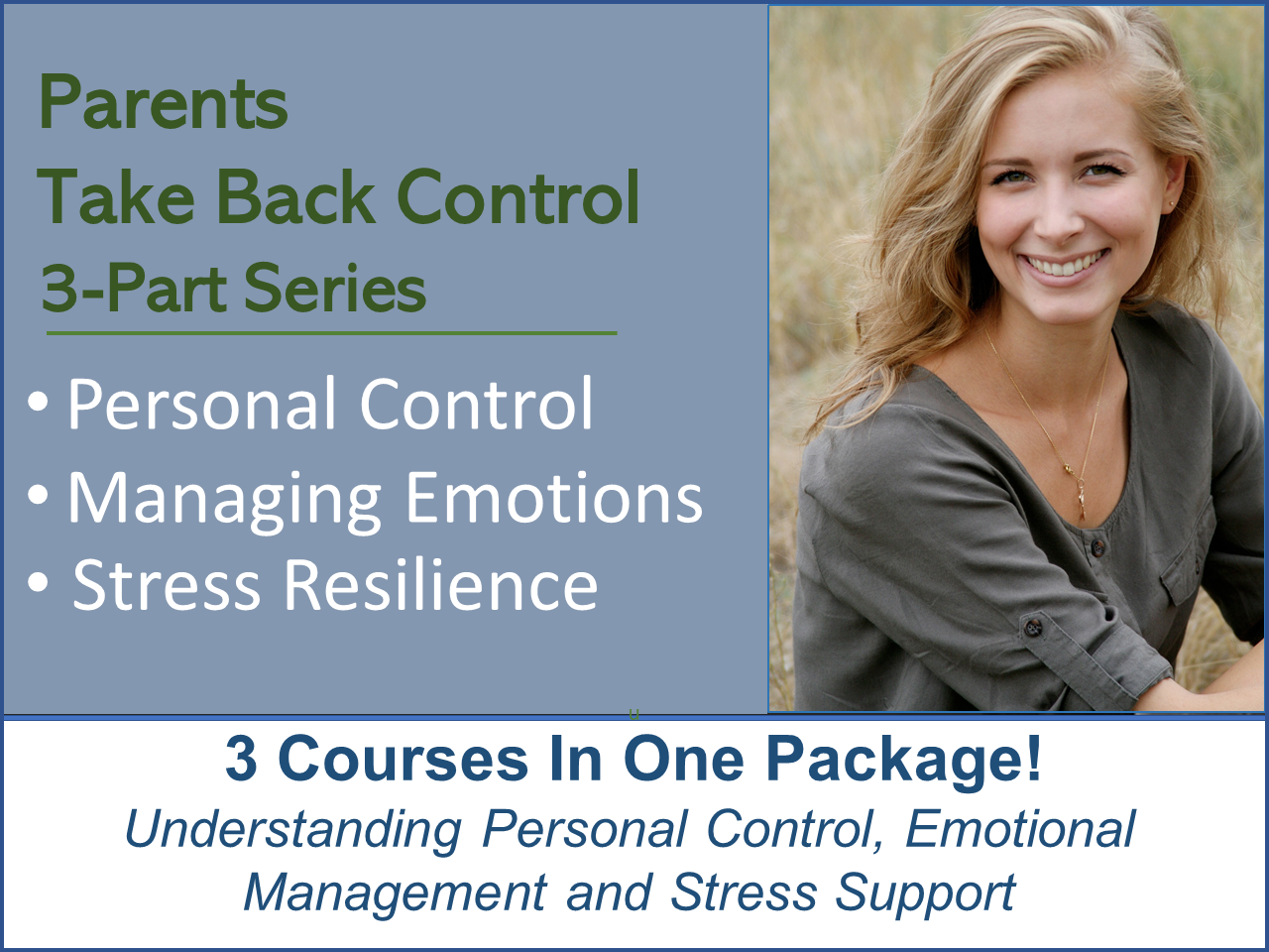 Stress Management & Resilience – 3 Part Course