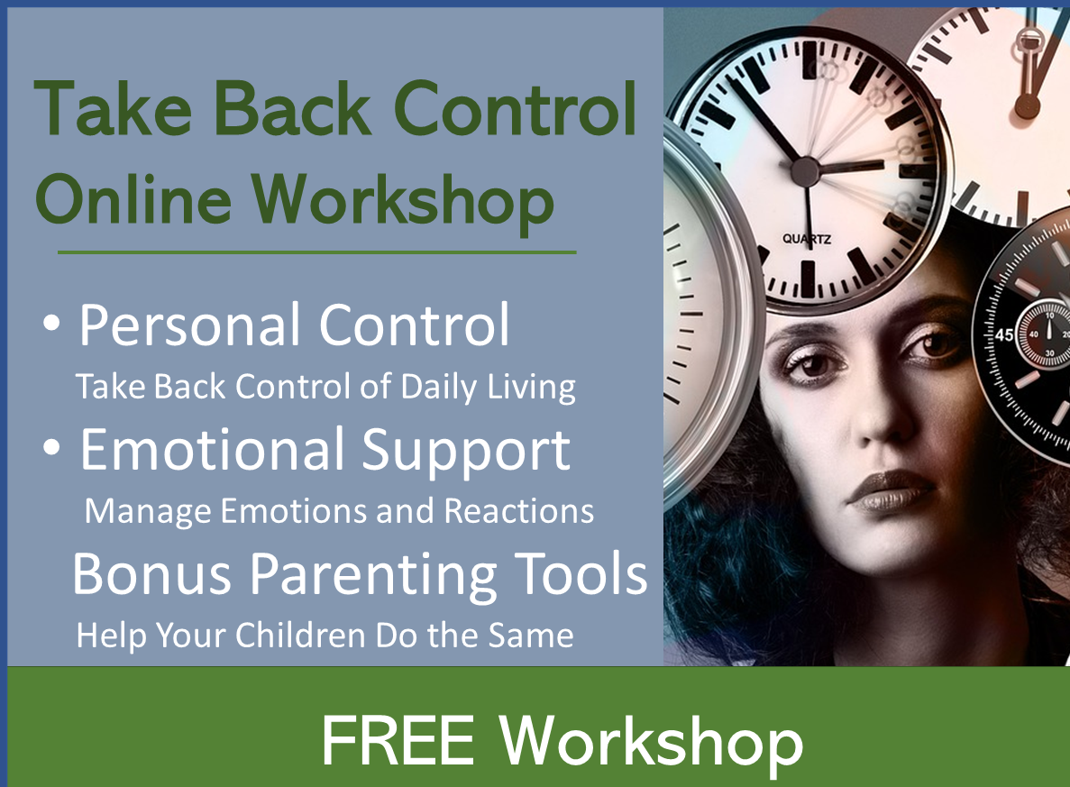 FREE- Reducing Parent Overload-positive parenting first steps~ Special!