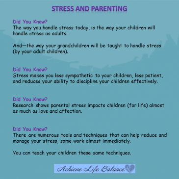 The Shocking Effects Of Stress on Parenting